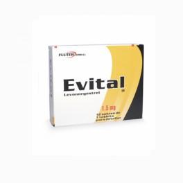 EVITAL 1.5 MG 1 CAPLETAS